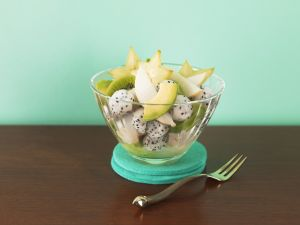 Fruchtsalat mit exotischem Obst Rezept