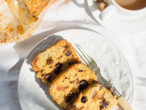 Früchtekuchen mit Marmeladenglasur Rezept