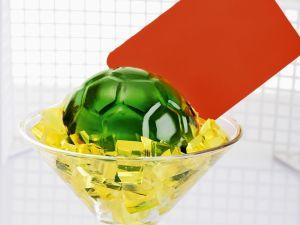 Fußball-Götterspeise Rezept