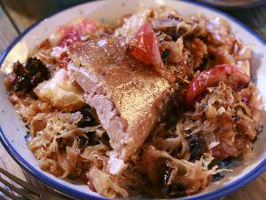 Gänsebraten mit Sauerkraut Rezept