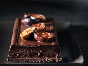 Ganache-Kuchen mit Feigen Rezept