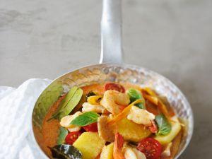 Garnelen-Ananas-Curry Rezept