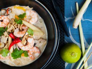 Garnelen-Currysuppe Rezept