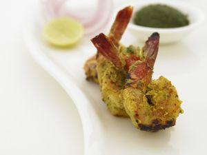 Garnelen mariniert nach indischer Art Rezept