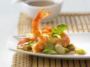 Garnelen mit asiatischer Sauce Rezept