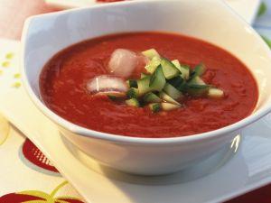 Gazpacho mit Gurken Rezept
