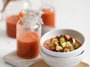 Gazpacho mit Kirschen Rezept