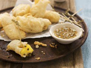 Gebackene Ananas mit Maracujasauce Rezept