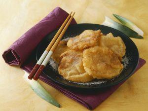 Gebackene Ananasscheiben auf indonesische Art Rezept