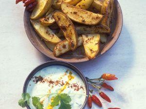 Gebackene Kartoffelspalten Rezept