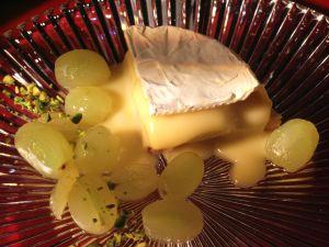 Gebackener Camembert mit Trauben Rezept