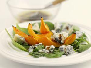 Gebackener Kürbis mit Gorgonzola Rezept