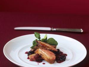 Gebratene Entenbrust mit Kirschsoße Rezept