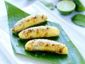 Gebratene Kokos-Bananen Rezept