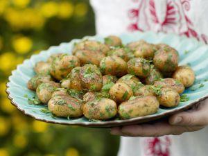 Gebratene Kräuter-Kartoffeln Rezept