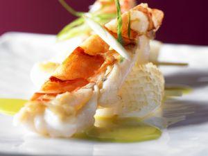 Gebratene Meeresfrüchte mit Currysauce Rezept