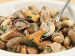 Gebratene Pilze Rezept