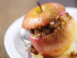Gebratener Apfel Rezept