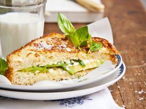 Gebratener Avocado-Toast Rezept