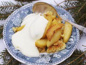 Gebratener Couscous mit Äpfeln Rezept