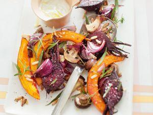 Gebratenes Gemüse aus dem Ofen Rezept