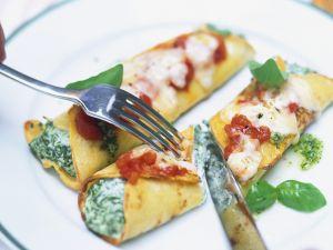 Gefüllte Crêpes auf italienische Art Rezept