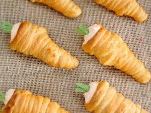 Gefüllte Karotten-Cones