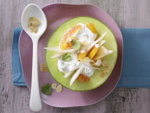 Gefüllte Melone Rezept