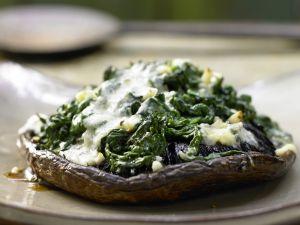 Gefüllte Portobello-Pilze Rezept