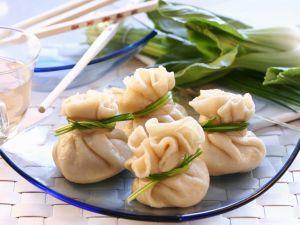 Gefüllte Teigtaschen auf chinesische Art Rezept