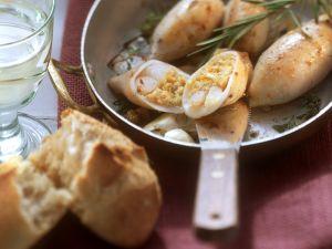 Gefüllte Tintenfischtuben Rezept