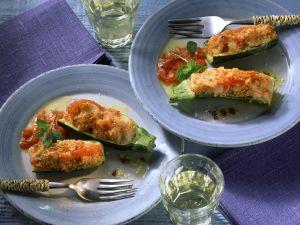 Gefüllte Zucchini Rezept
