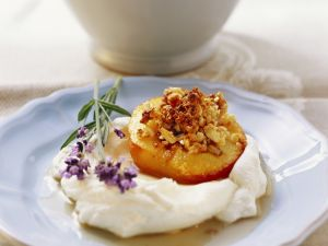 Gefüllter Pfirsich nach toskanischer Art Rezept