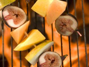 Gegrillte Fruchtspieße Rezept