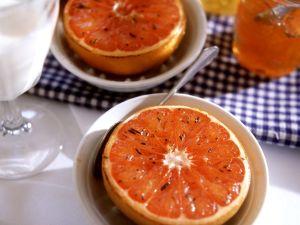 Gegrillte Grapefruit mit Honig Rezept