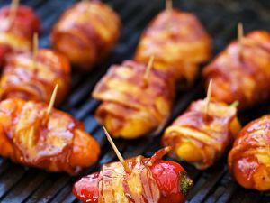 Gegrillte Paprika mit Bacon Rezept