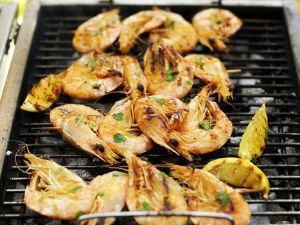 Gegrillte Shrimps-Spieße Rezept