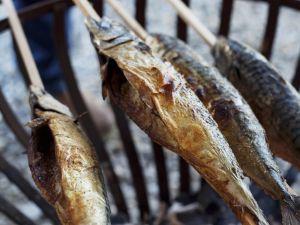 Gegrillter Fisch (Steckerlfisch) Rezept
