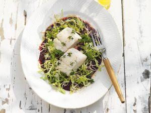 Gegrillter Kabeljau mit Rote-Bete-Salat Rezept