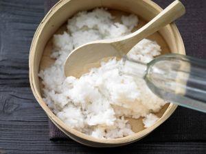 Gekochter Sushi-Reis Rezept