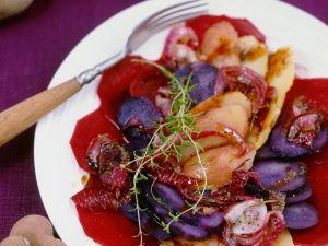 Gemischter Kartoffel-Rote Bete-Salat Rezept