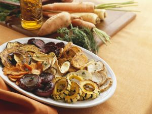 Gemischtes gebratenes Gemüse Rezept