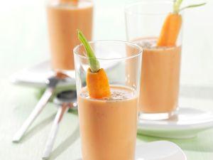 Gemüse-Buttermilch-Shake Rezept