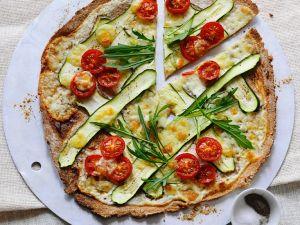 Gemüse-Flammkuchen Rezept
