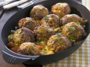 Gemüse-Hackfleisch-Curry Rezept