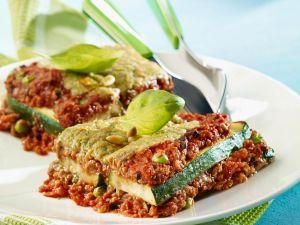Gemüse-Hackfleisch-Lasagne Rezept