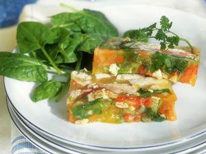 Gemüse-Hähnchen-Sülze Rezept