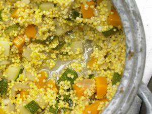 Gemüse-Hirse Rezept