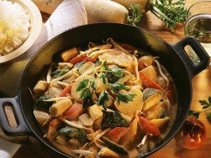 Gemüse-Kokoscurry Rezept