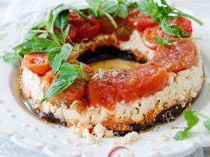 Gemüse-Kranz mit Käse Rezept
